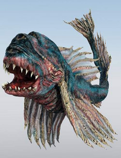 Creatures of the Deep Triclogalodon