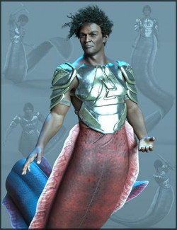 Ocean Warrior Poses for Zale 8.1 and Genesis 8.1 Males