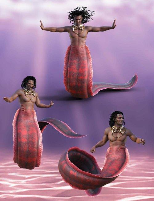 Underwater Creature Poses for Zale 8.1