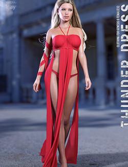 dForce Thunder Dress for Genesis 8 Females