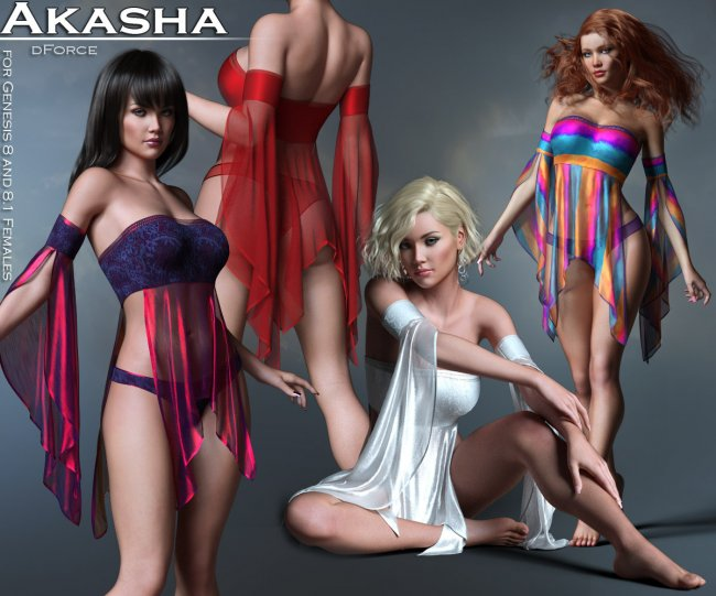Akasha Outfit for G8 and G8.1 Females