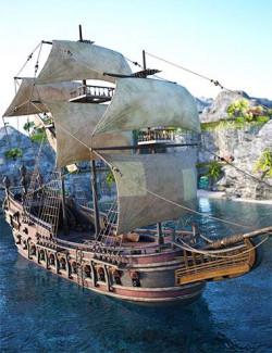 Tartarean Pirate Ship