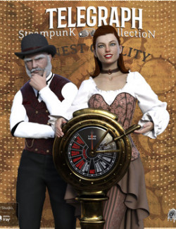 Steampunk Collection Telegraph DS