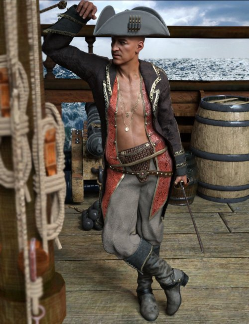 Black Sail Poses for Wolfgang 8.1