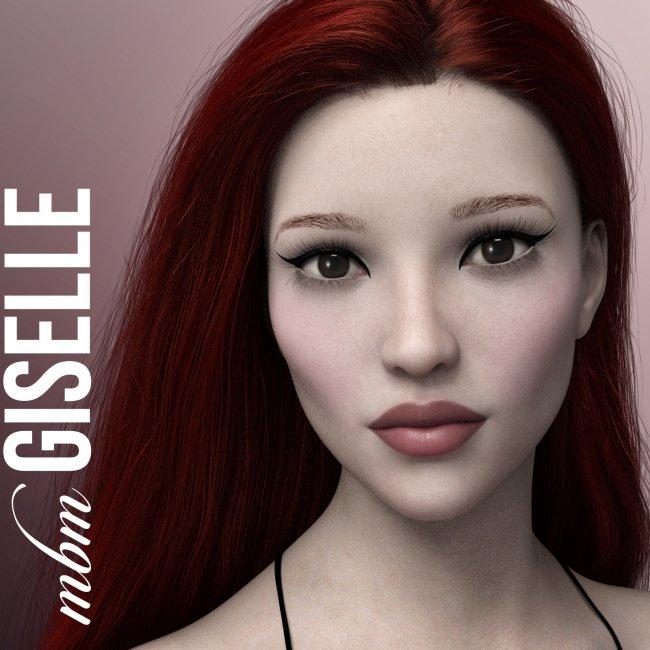 MbM Giselle for Genesis 3 & 8 Female
