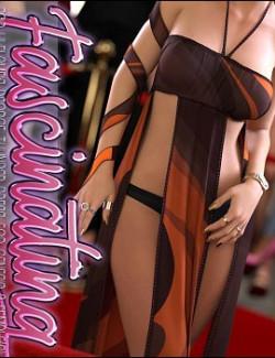 Fascinating for dForce Thunder Dress for Genesis 8 Females