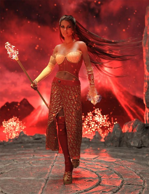 dForce Florentine Outfit for Genesis 8 and 8.1 Females