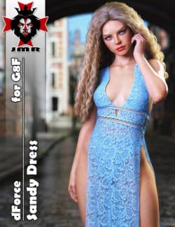 JMR dForce Sandy Dress for G8F