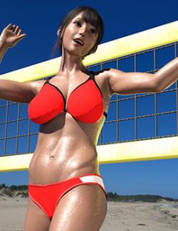 Beach Vollay Bikini for G8&8.1F