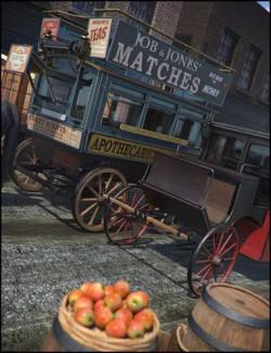 Vintage Carriages 2 - Brougham & Omnibus