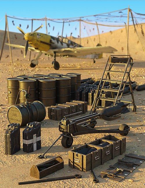 Luftwaffe Ground Support Equipment