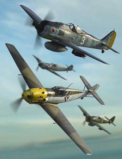 WW2 Axis Warplanes Bundle