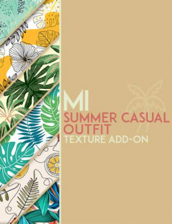 dForce MI Summer Casual Outfit Texture Add-on