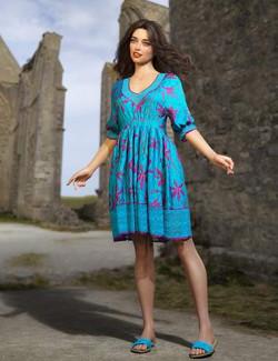 dForce Kira Outfit Texture Expansion