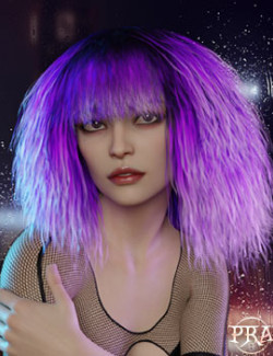 Prae-Lariana Hair For G8 Daz