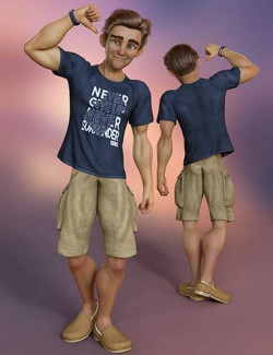 Stylized '21 Clothing for Genesis 8 and 8.1 Male