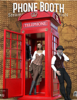 Steampunk Collection Phone Booth DS