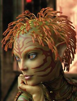 Alien Styles Hair for Genesis 8 Females