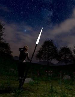 Orestes Iray HDRI Skydomes - Cloudy Night