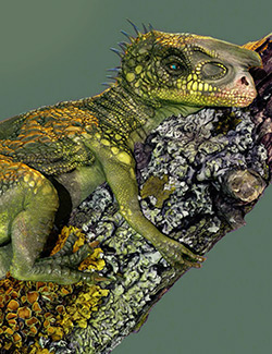 Texturing a Dinosaur for Production