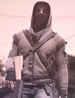 Dystopian HD Outfit for Genesis 8 and 8.1 Males
