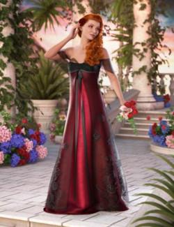 dForce Enchanted Splendor for Genesis 8 and 8.1 Females