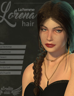 Lorena Hair for La Femme and more