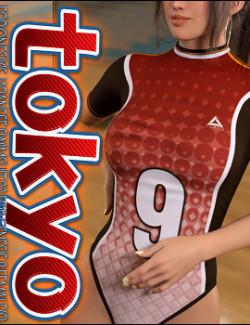 Tokyo for Japanese Swimsuit 02 for Genesis 8 Female(s)