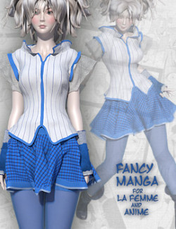 Fancy Manga LF and Anime