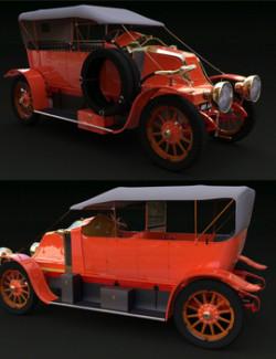 RENAULT V1 1909 for DAZ Studio