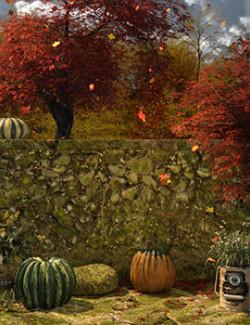 Autumn Horizon Background Props For Daz Studio With Iray