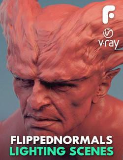 FlippedNormals Lighting Scenes - V-Ray for Maya 2018
