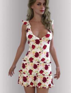 dForce Skyler Dress Outfit for Genesis 8.1 Females