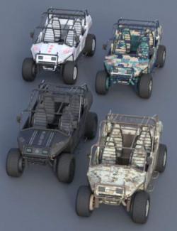 MIL ATV Vehicle Material Pack