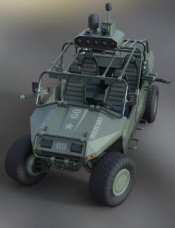 MIL ATV Vehicle Weaponry and Props