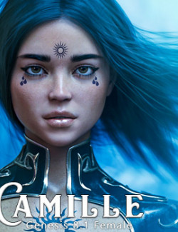 CJ Camille For Genesis 8.1 Female