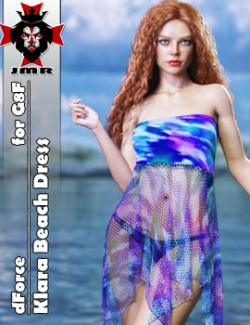 JMR dForce Klara Beach Dress for G8F