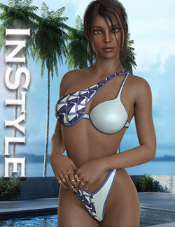 InStyle - Bikini Crossover Two Color For G8.1