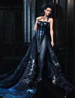 CB Sophia dForce Clothing Set Jewel Texture Expansion