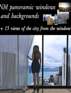 NM panoramic windows and backgrounds