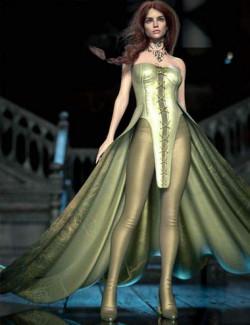 CB Sophia dForce Clothing Set for Genesis 8 and 8.1 Females