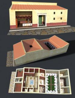 ROMAN PATRICIAN HOUSE for DAZ Studio