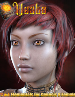 Vesta for Genesis 8 Females