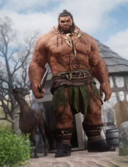 Geirrod the Giant for Genesis 8.1 Male