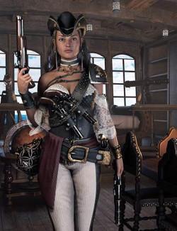 dForce Rachell High Seas Outfit for Genesis 8.1 Females