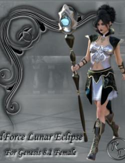 dForce Lunar Eclipse for Genesis 8.1 Female