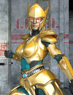 12 Constellation warriors series – Virgo for Genesis 8.1 Female and Victoria 8.1