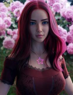 Vo Rose for Genesis 8.1 Female