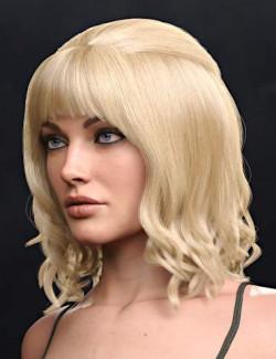 Brigit Hair for Genesis 8 and 8.1 Females