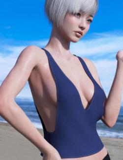 dForce Beach Top Genesis 8 Female